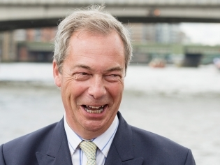 Donate Nigel Farage's EU pension to charity