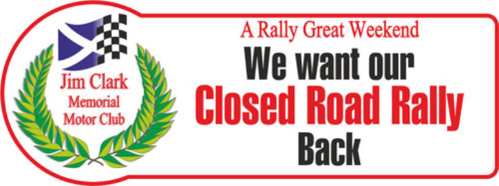 Jim Clark Rally, We want our Closed Road Rally Back.