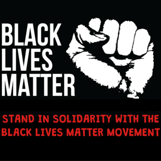 Stand in solidarity with the Black lives matter movement