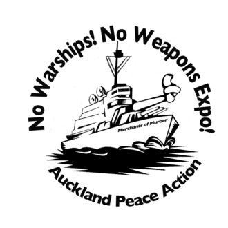 No war  no warships badge flat