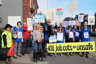 Save surgical ward B3 and 400 jobs at Stepping Hill Hospital, Stockport