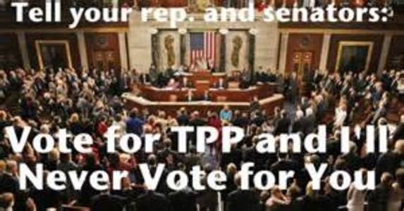 Representative Brett Guthrie, Stop the Trans Pacific Partnership (TPP)