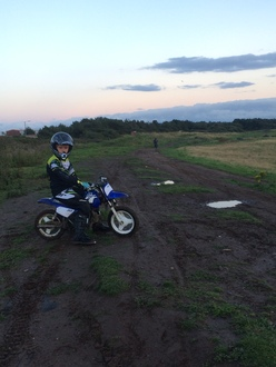 ALLOW USE OF THE MOTOCROSS TRACK IRVINE AYRSHIRE