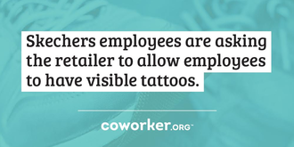 Let Your Employees Show Their Tattoos