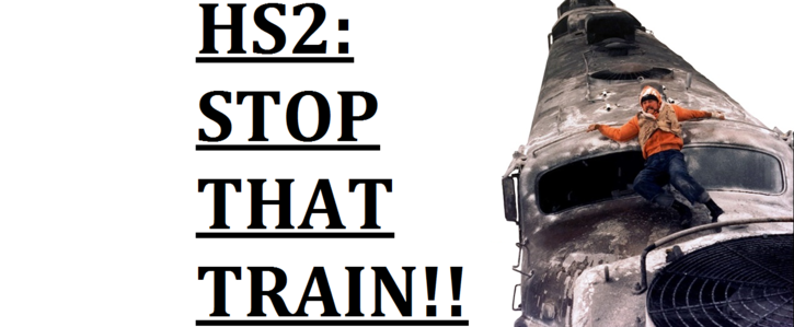 Scrap HS2  - A waste of taxpayers money.
