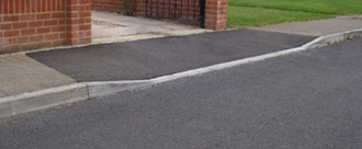 Dropped Kerb Disabled Access