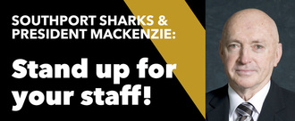 Southport Sharks support your staff!