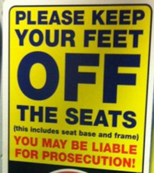 Refine the Merseyrail 'Feet on Seats' by-law