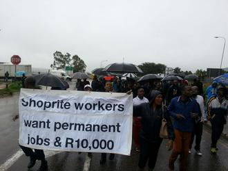 Pay Shoprite striking workers a decent salary too