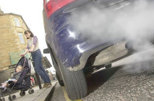 Monitor kerbside air-quality on roads close to schools