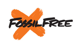 Fossil free logo