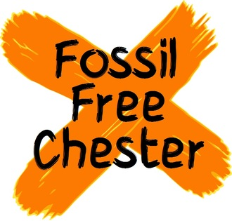 Fossil free chester logo