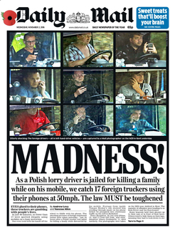 prosecute the Daily Mail for race hate