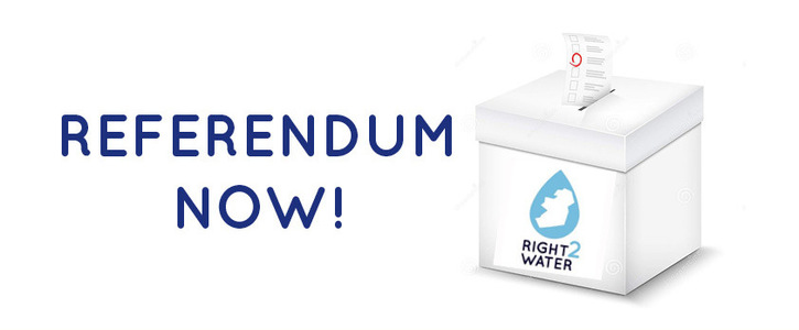 Support a referendum to stop water privatisation