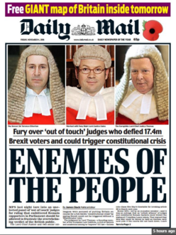 Prosecute the Daily Mail for contempt