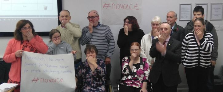 Save the National Forum of People with Learning Disabilities