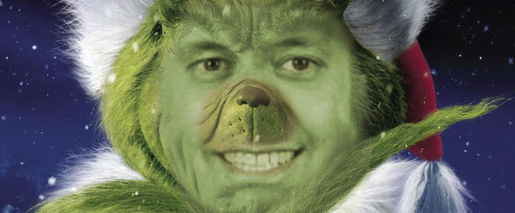 Don't Be A Grinch - Make Christmas A Public Holiday