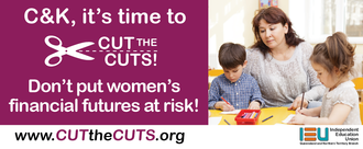 C&K, it's time to CUT the CUTS!