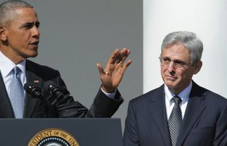 Confirm Merrick Garland in a recess appointment