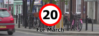 Petition: 20mph Speed Limit for March Town