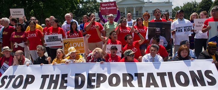 We Pledge To Resist Deportation And Discrimination Through Sanctuary
