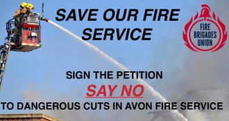 NO DANGEROUS CUTS TO AVON FIRE & RESCUE SERVICE