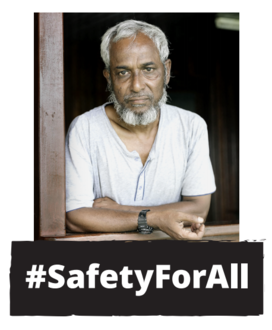 #SafetyForAll refugees: Trevor Evans MP
