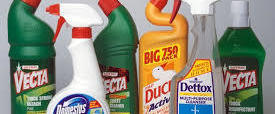 Make bleach bottles black or white. so children are not attracted to them