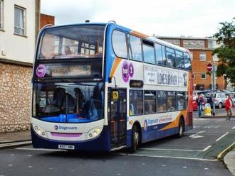 Don't stop the 2 bus from Hopping:  maintain the 2 bus service at three buses an hour