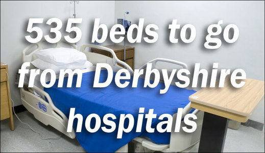 Protect 535 NHS beds in Derbyshire