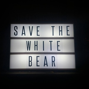 SAVE THE WHITE BEAR