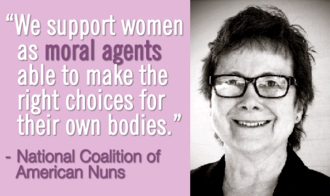Stand With The Nuns in Support of Birth Control