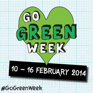 Sign the Go Green Week pledge