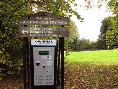 '£4 to Pay - No Way'   To The  Proposed Parking Charge In Wirral Country Parks