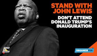 Stand with John Lewis: Do Not Attend Donald Trump's Inauguration: Senators John Cornyn and Ted Cruz