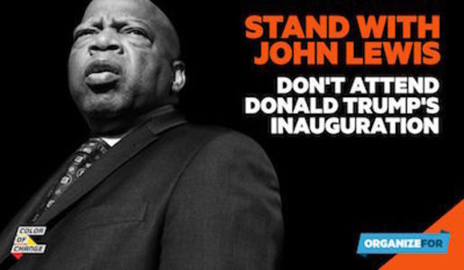 Stand with John Lewis: Do Not Attend Donald Trump's Inauguration: Senators Mark Warner and Tim Kaine