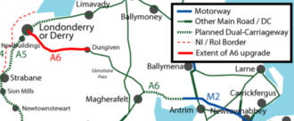 A6NI  to be renamed the Heaney Highway