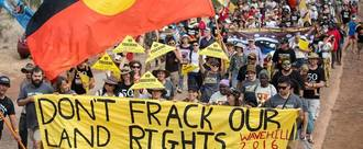 No fracked gas pipeline through the Northern Territory