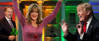Panti Bliss to present Shamrock to Trump