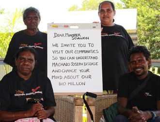 Overturn Minister Scullion's decision to revoke $10 million in funding to the MJD Foundation