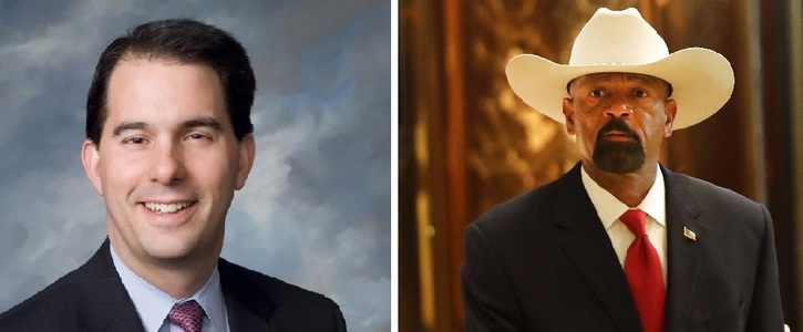 Governor Walker: Fire Sheriff Clarke!