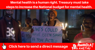 Treasury mental health
