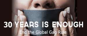 NZ: Stand against the Global Gag Rule!