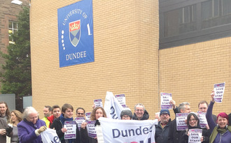 Stop the unnecessary job cuts at University of Dundee