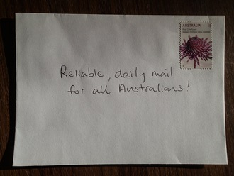 Hey Australia Post - Snail Mail belongs to the People