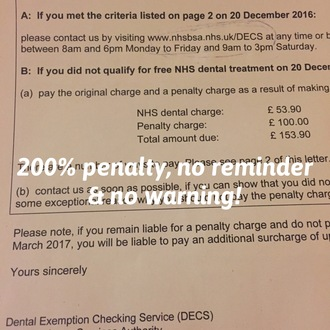Help Stop 200% Penalty Fines From NHS Business Services