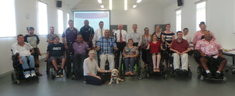 Help people with spinal injury to live in the community and achieve their life goals after trauma