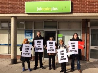 Save Whitstable and Herne bay Job centres