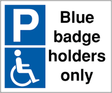 Blue Badge Parking for People with Dementia
