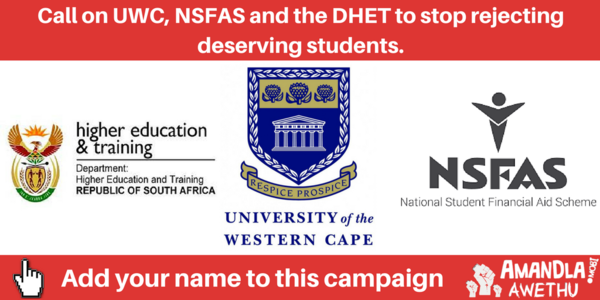 Assist Students Depending on NSFAS